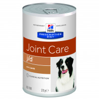 Hills Prescription Diet J/D Canine vådfoder á 370 gr.