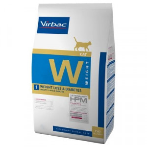 Virbac Cat -W1 Weight Loss & Diabetes 7kg