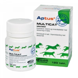 Aptus Multicat tabletter 120 stk