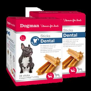 Dogman Dental Sticks Sma
