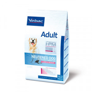 Virbac HPM Adult Dog Neutered Large & Medium