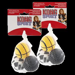 KONG Sports Balls, small, 3 stk.