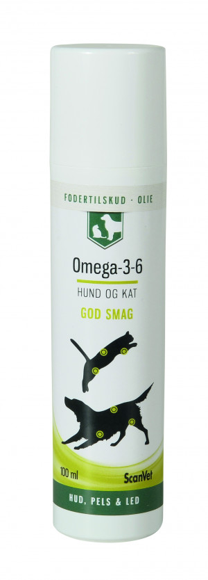 Scanvet Omega-3-6 100 ml