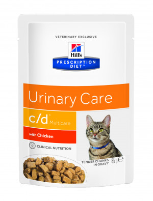 Hills Prescription Diet c/d Multicare Feline With Chicken 85 g.