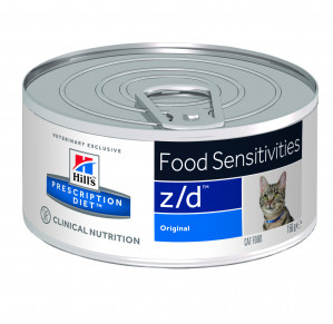 Hills Prescription Diet Feline z/d Ultra Allergen-Free á 156 g