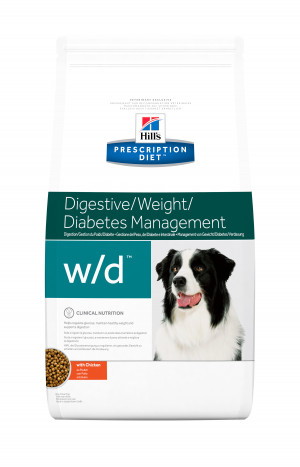 Hills Prescription Diet W/D Canine low fat