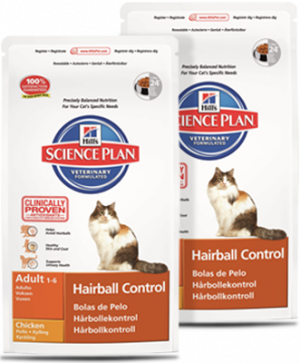 Hills Science Plan Kat Hairball Adult