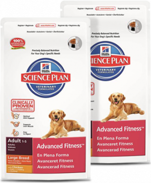Hills Science Plan Adult Advanced Fitness Large Breed chicken