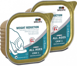 Specific CRW-1 Weight Reduction 6x300 g. vådfoder til hunde