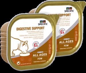 Specific FIW Digestive 7x100 g. vådfoder til katte