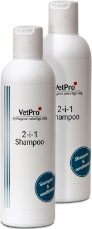 VetPro 2-i-1 Shampoo 250 ml