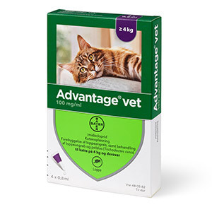advantage kat loppemiddel kat