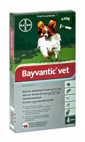 Bayvantic hund 0-4 kg