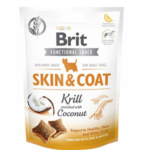Brit Functional Snack - Skin & Coat Krill,