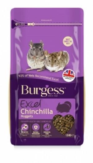 Burgess Excel Chinchilla foder 1,5 kg