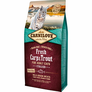 Carnilove Cat Adult - Fresh Carp Trout