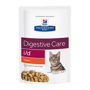 Hills Prescription Diet I/D Feline Chicken Pouch