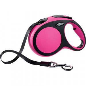 Flexi New Comfort Bånd, 5 M, Pink