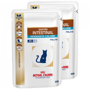 Royal Canin Gastro Intestinal Moderat calorie Feline vådfoder 100 gr