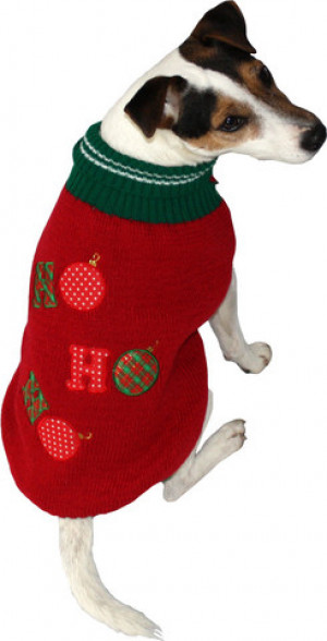 """Julebluse hund """"ho ho ho"""""""
