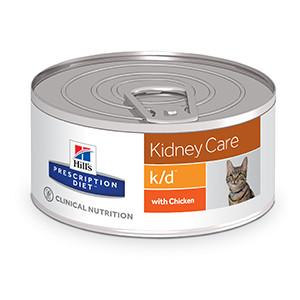 Hills Prescription Diet k/d Feline Kidney Care á 156 g