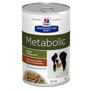 Hills PD Canine Metabolic Stew Chicken & Vegetables, 354g