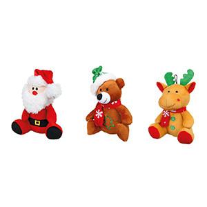 julebamse hundelegetøj