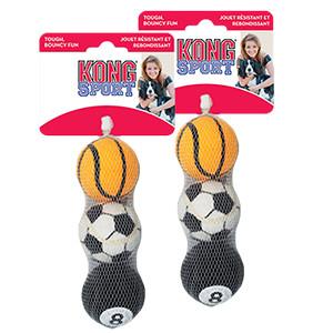 KONG Sports Balls, 3 stk,