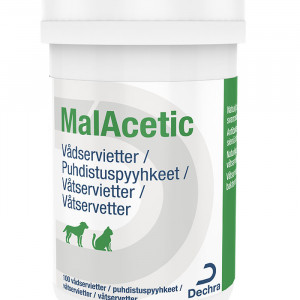 MalAcetic vådservietter