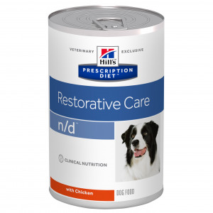 Hills Prescription Diet n/d canine dåser á 360 g