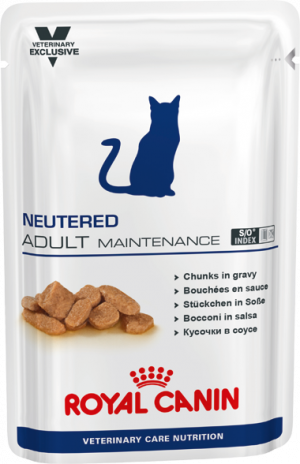 Royal Canin Neutered Adult Maintenance Cat vådfoder 12 x 100 g