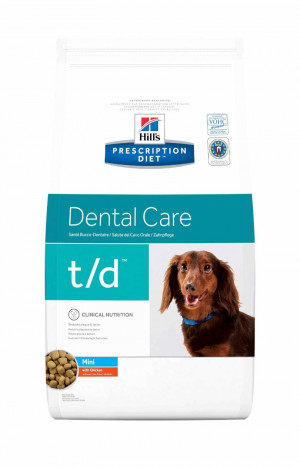 Hills Prescription Diet Canine T/D Mini 3 kg