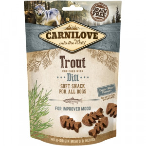 Carnilove Dog Semi Moist Snack Trout