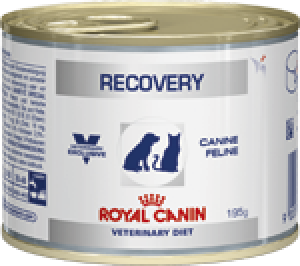 Royal Canin Recovery - rekonvalescens, vådfoder dåser á 195 g