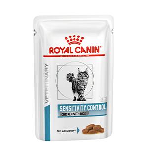 Sensitivity Control Cat Kylling og Ris 12 x 85 g