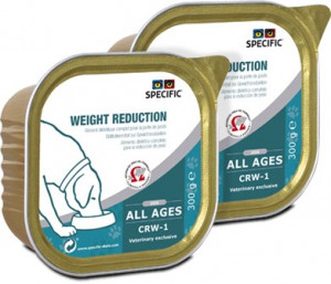 Specific CRW-1 Weight Reduction 300 g. vådfoder til hunde