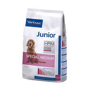 Virbac HPM Junior Dog Special Medium, 12 kg