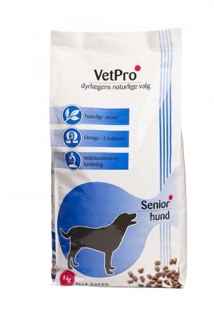 VetPro Senior Hund, 8 kg
