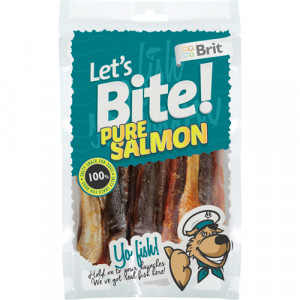 Brit Lets Bite Pure Salmon 80 g