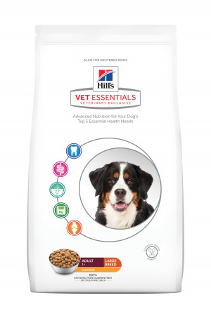 Hills VetEssentials Adult Large Breed, Kylling