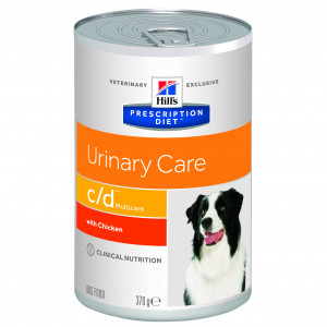 Hills Prescription Diet C/D canine dåser á 370 g
