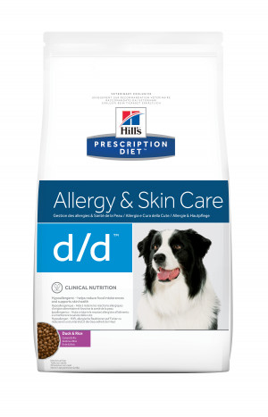 Hills Prescription Diet Canine d/d Duck and Rice
