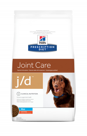 Hills Prescription Diet J/D mini Canine