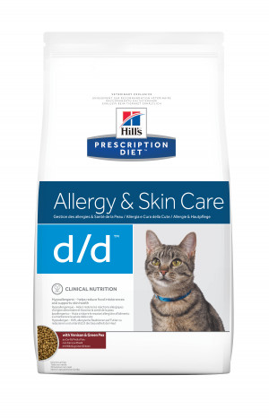 Hill's Prescription Diet Feline d/d Venison & Green Pea