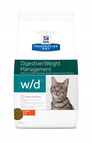 Hills Prescription Diet Feline W/D