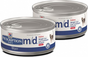 Hills Prescription Diet m/d Feline á 156 g