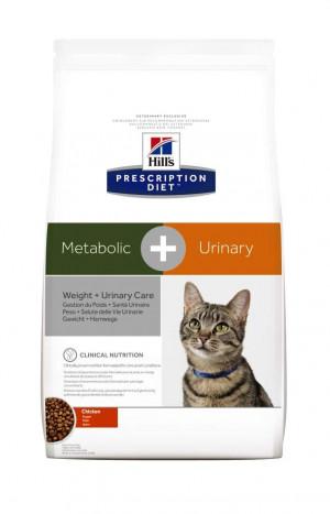 Hills Prescription Diet Feline Metabolic + Urinary 4 kg