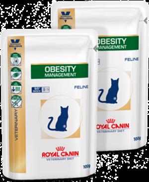 Royal Canin Obesity Våddiæt Kat 12 x 100 g