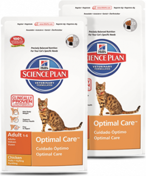Hills Science Plan Feline Optimal Care Chicken