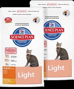 Hills Science Plan Feline Adult Light Chicken